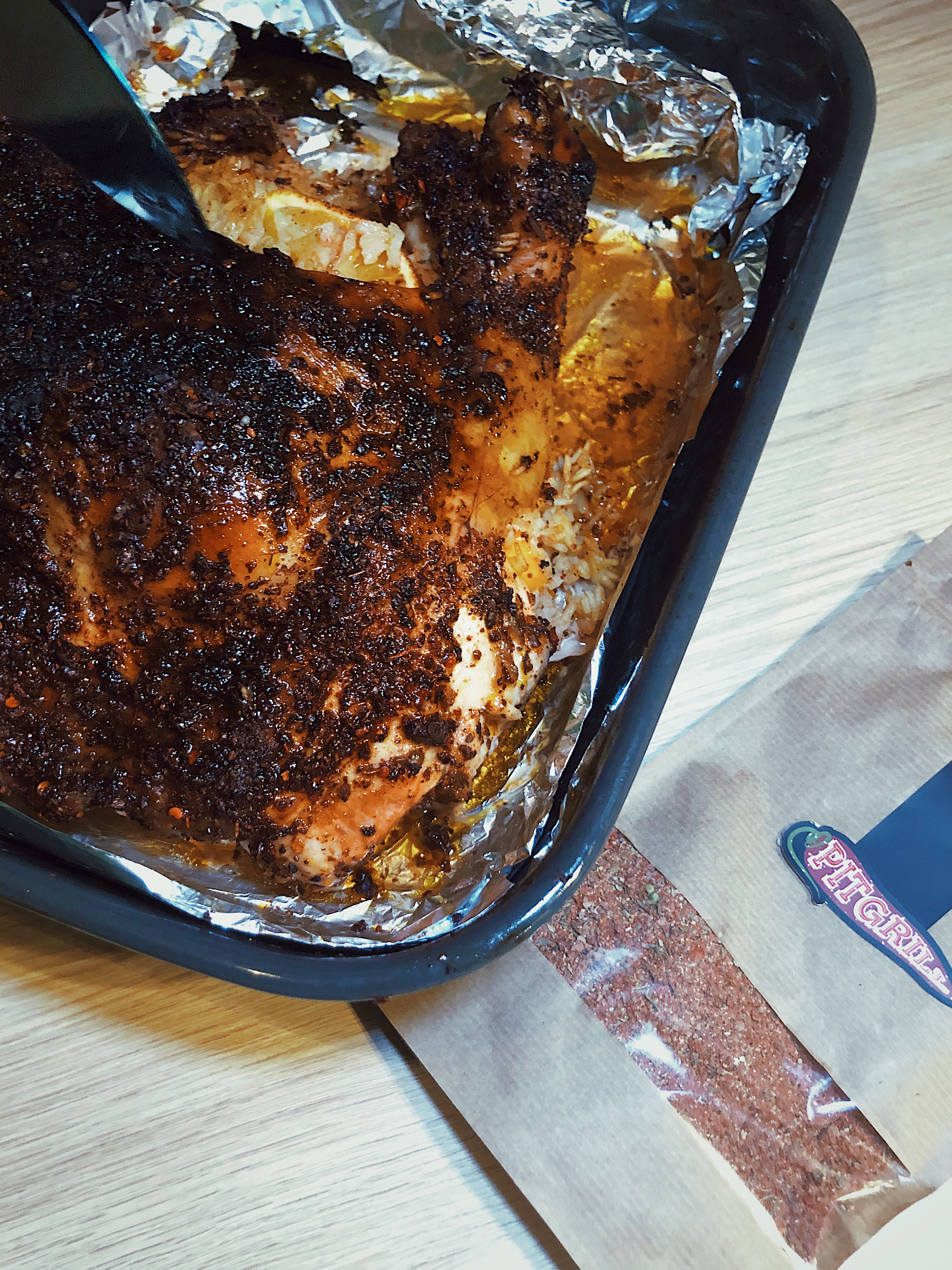 сухой маринад для курицы на гриле