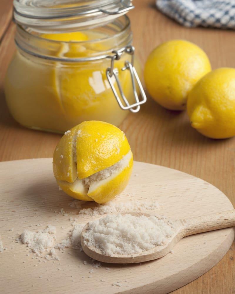 рецепт соленых лимонов