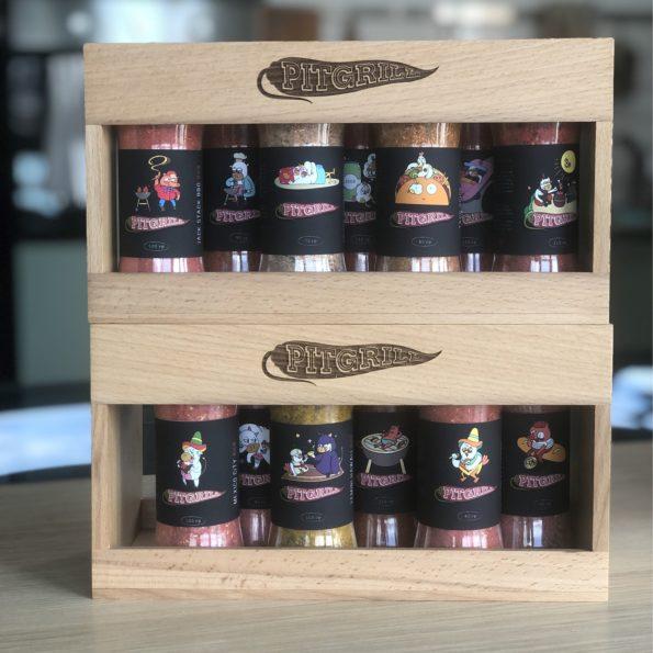 полка для специй Pitgrill Spice Box