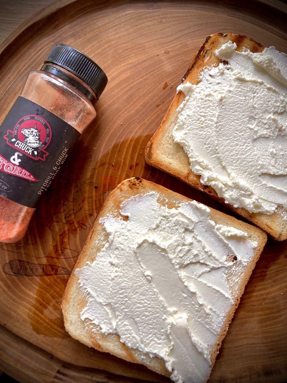 сендвич из копченой утки